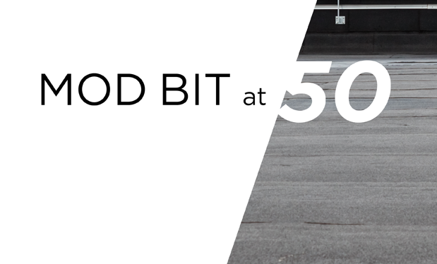 Mod bit at 50 - A roof system backbone continues to serve the industry well