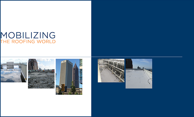 Mobilizing the roofing world - Klein Contracting replaces the roof systems on AT&T's Midtown Center in Atlanta