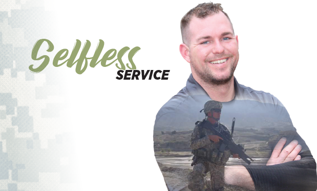 Selfless service - Brandon Reese wins the prestigious Best of the Best Award