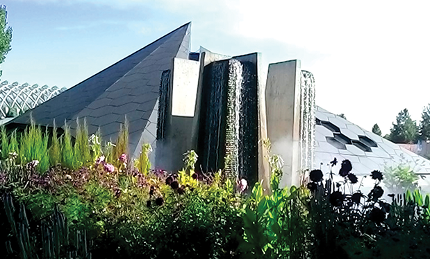 A roofing wonder - United Materials helps construct the Science Pyramid at Denver Botanic Gardens