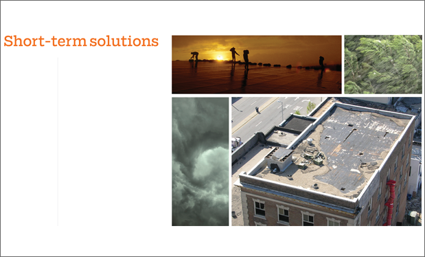 Short-term solutions - Follow these preliminary design guidelines to temporarily secure wind-damaged low-slope roof assemblies