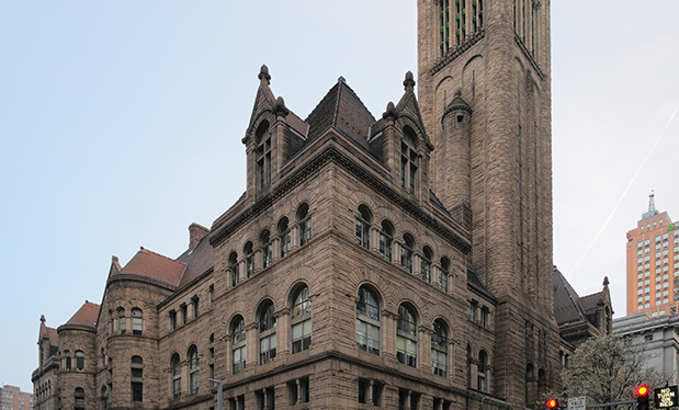 Roofing comes to order - Cuddy Roofing restores the roof on the historical Allegheny County Courthouse in Pittsburgh
