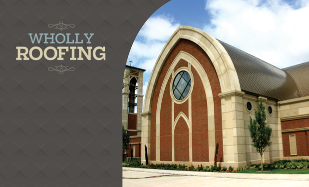 Wholly Roofing - Roofing Solutions helps design St. George Catholic Church in Baton Rouge
