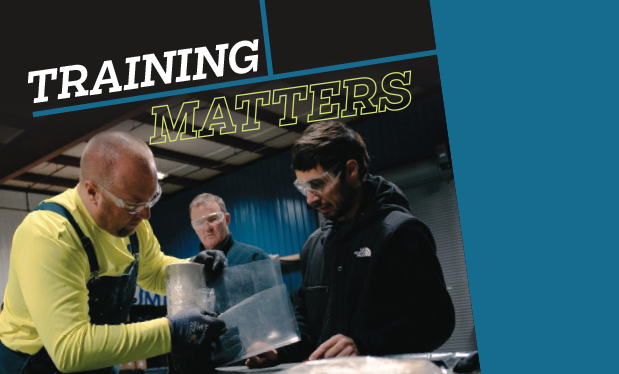 Training matters - Working in a constantly evolving industry requires ongoing training
