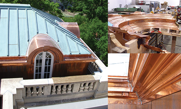 Revolutionary roofing - James R. Walls renovates the National Society Daughters of the American Revolution headquarters