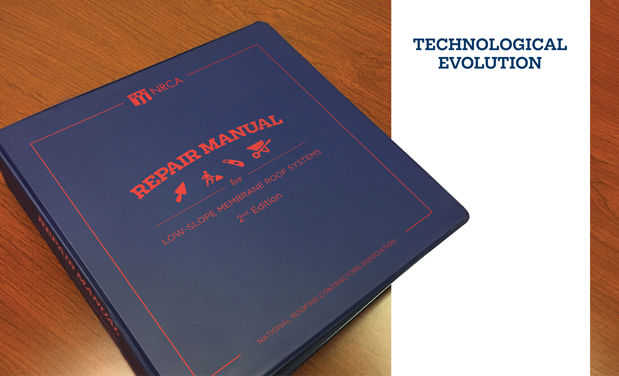 Technological evolution - NRCA updates its decades-old low-slope membrane roof system repair manual