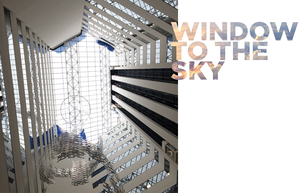 Window to the sky - Wagner Roofing replaces the skylight system on Bethesda Metro Center