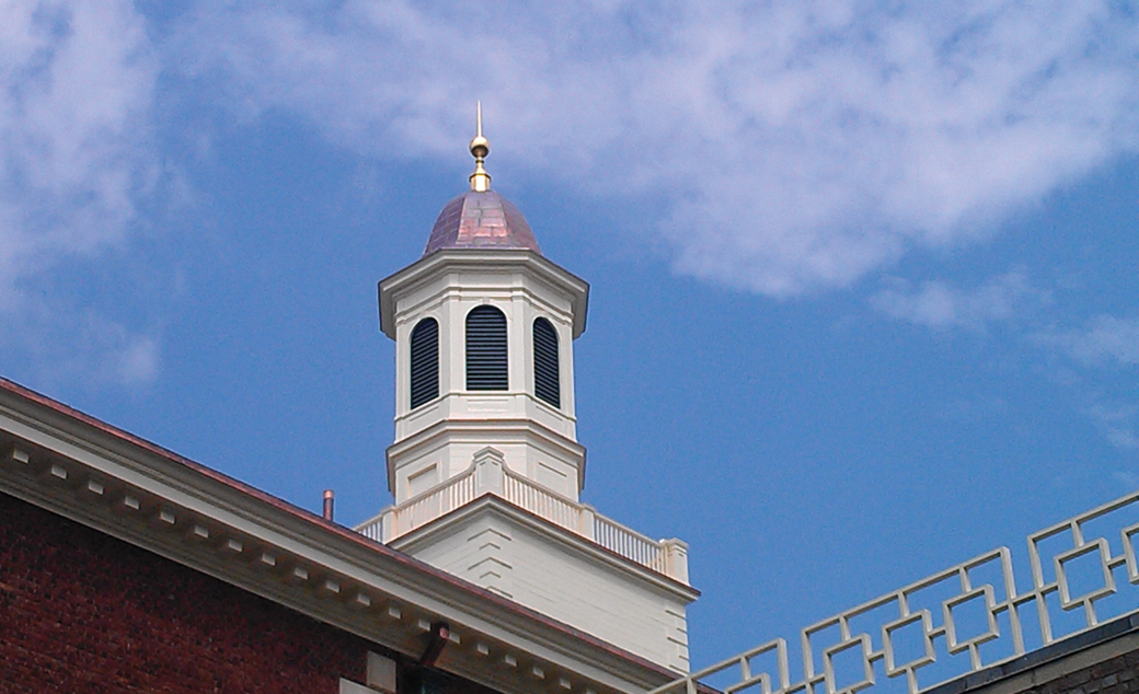 Catered roofing - Hayden Building Maintenance restores the roof systems on Vassar College's All Campus Dining Center