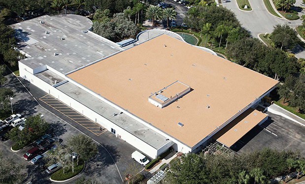 A hybrid solution - Advanced Roofing reroofs the DePuy Synthes manufacturing facility in Palm Beach Gardens, Fla.