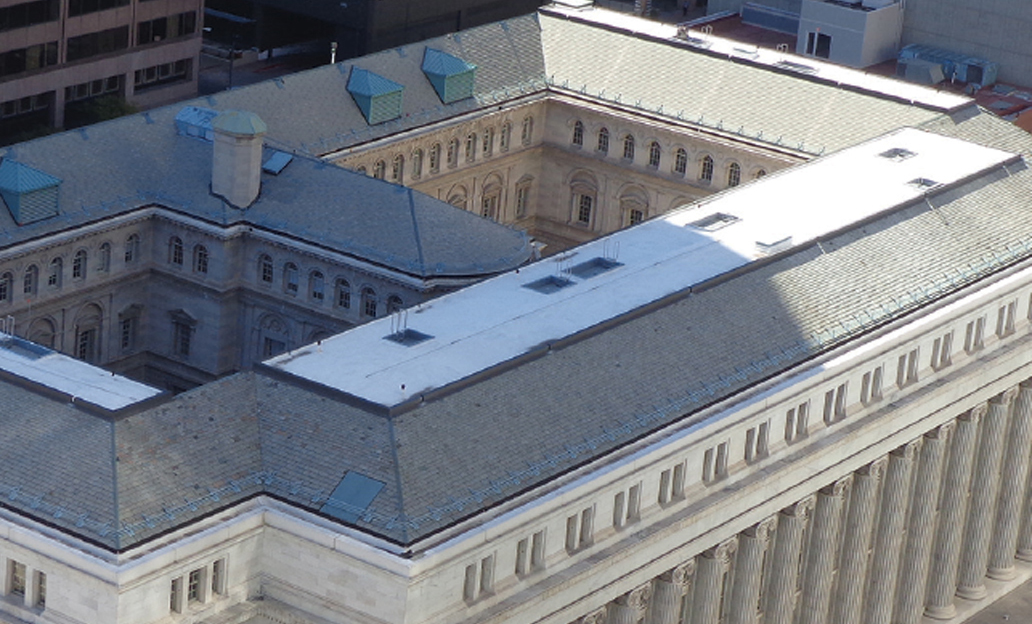 A case of honorable roofing - United Materials renovates the Byron R. White U.S. Courthouse's roof systems