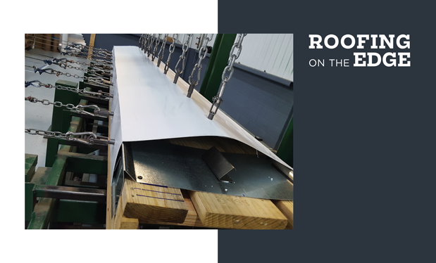 Roofing on the edge -