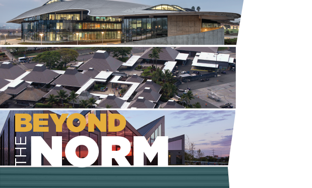 Beyond the norm - Metal roof systems continue to inspire architects