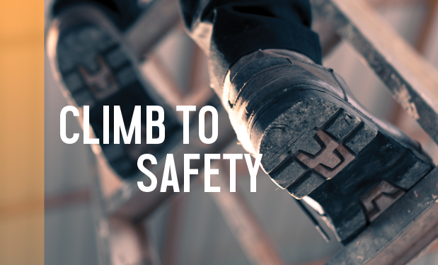 Climb to safety - Proper setup and use of ladders keep workers safe