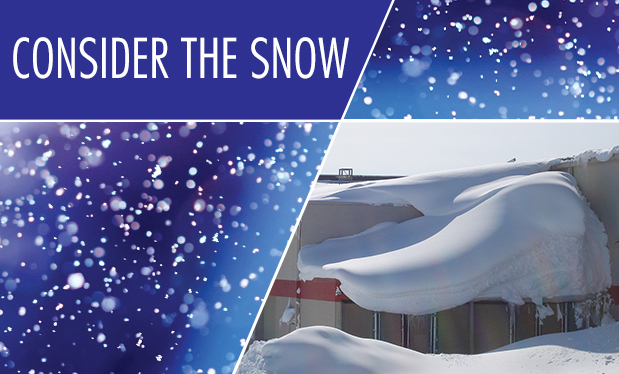 Consider the snow - Designers need to be aware of roof systems' structural limitations in cold climates
