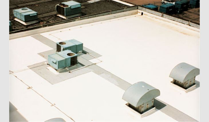 Using Acrylic Coatings Professional Roofing Magazine