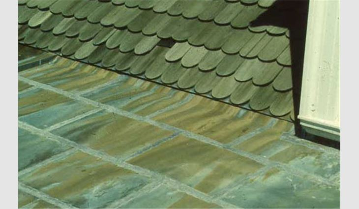 Environmental Corrosion Of Copper Professional Roofing