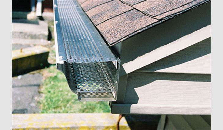 Options In Gutter Protection Professional Roofing Magazine