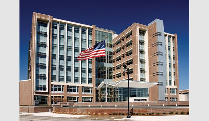 The completed Birmingham Social Security Administration Center has achieved LEED® Silver Certification.