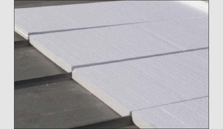 Flute-fill EPS insulation