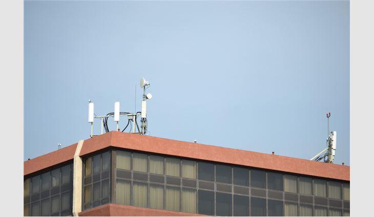 A typical antennae array