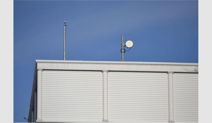 Building elements often may shroud RF equipment