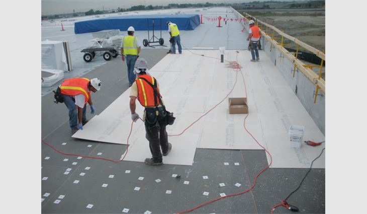 Installing cover boards