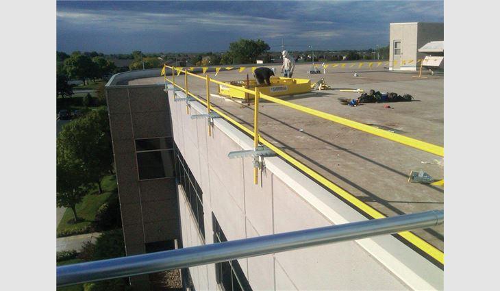 Spf Safety Skills Professional Roofing Magazine