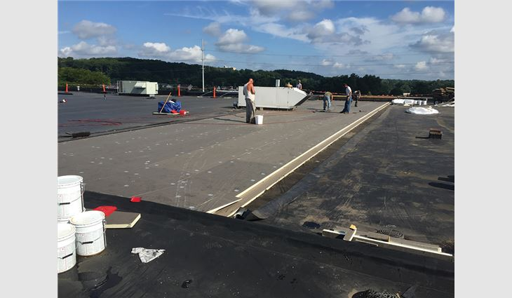 Bridgestone Americas, parent company of Indianapolis-based Firestone Building Products Co. LLC, teamed with AAdvanced Building Products LLC, Twinsburg, Ohio, and TEMA Roofing Services LLC, Girard, Ohio, to provide a new TPO roof system on Ohio's Akron-Canton Regional Foodbank.
