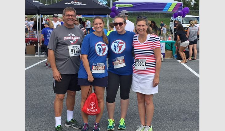 ATAS International Inc. employees participated in the Lehigh Valley 9/11 Heroes Run.
