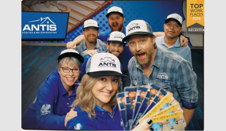Antis Roofing and Waterproofing Inc. sent 2,000 Giving Cards to its community.