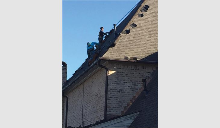 Malone Roofing Services' residential steep-slope division is rapidly growing.