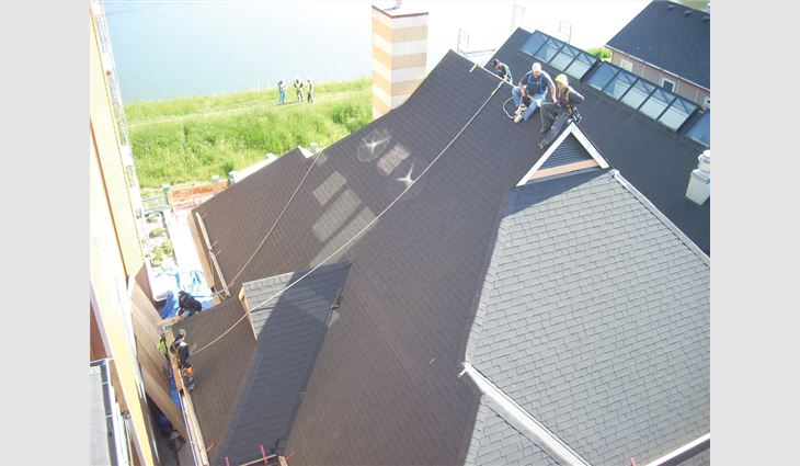 Photo courtesy of Interstate Roofing Inc., Portland, Ore.