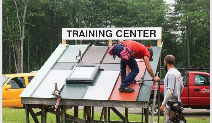 Horch Roofing, Warren, Maine, offers scholarships to encourage graduating high school seniors to attend local trade schools.