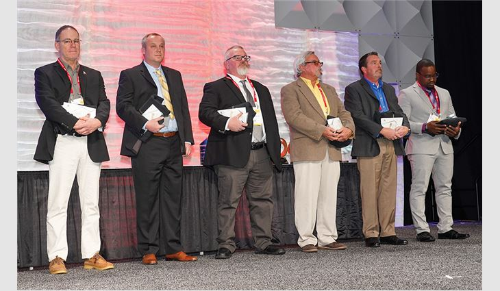The Roofing Alliance presented MVP Awards to industry professionals.