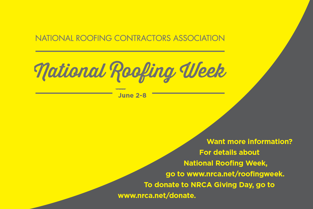 It's celebration time!   Professional Roofing magazine