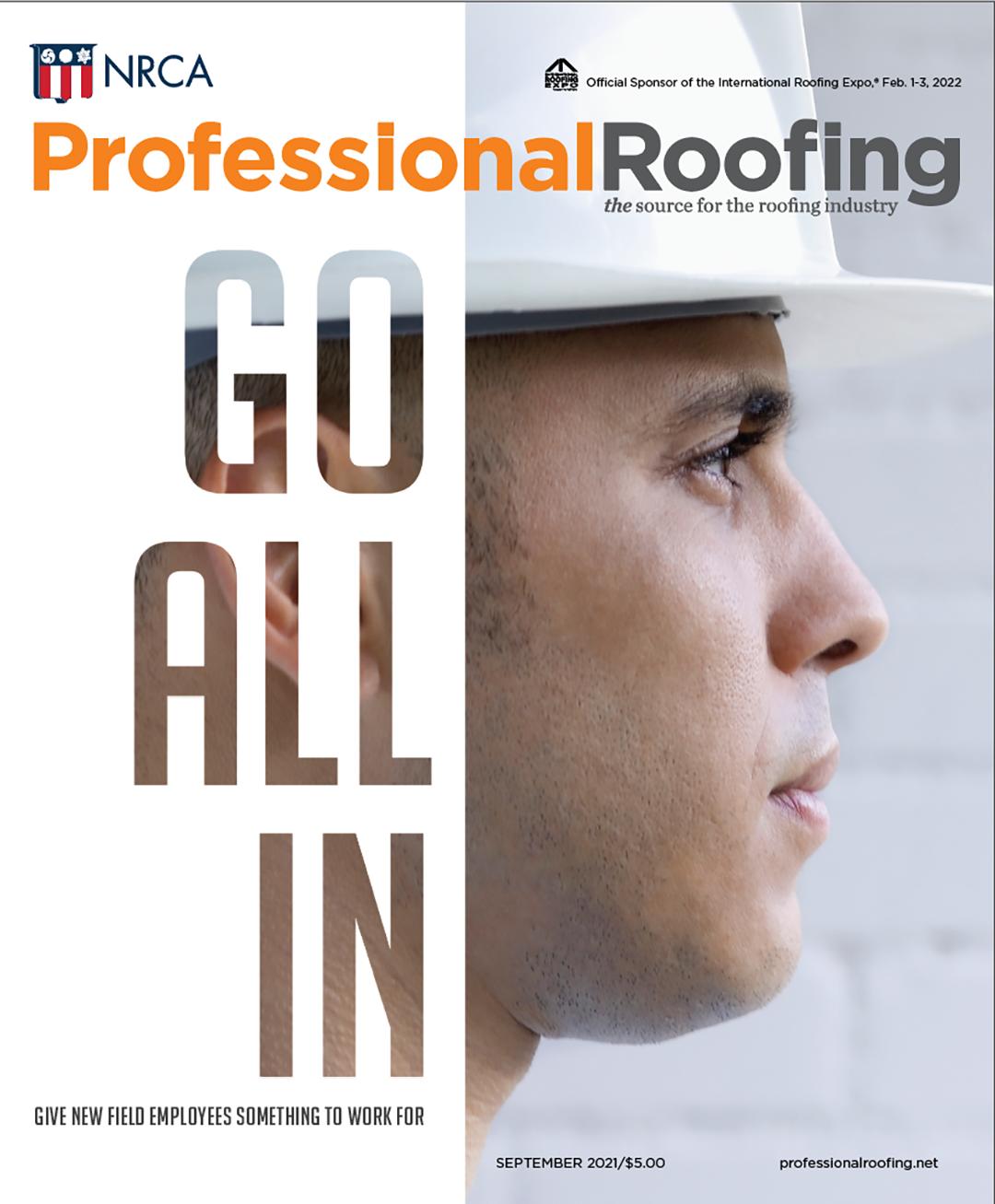Professional Roofing Magazine 9/1/2021