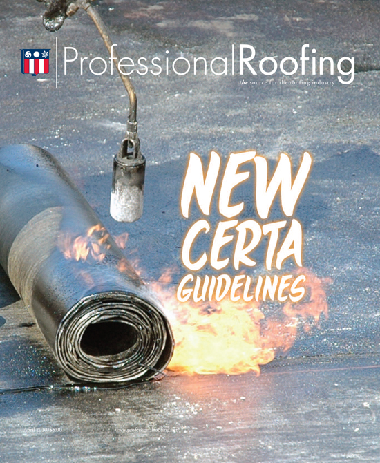 Professional Roofing Magazine 4/1/2010