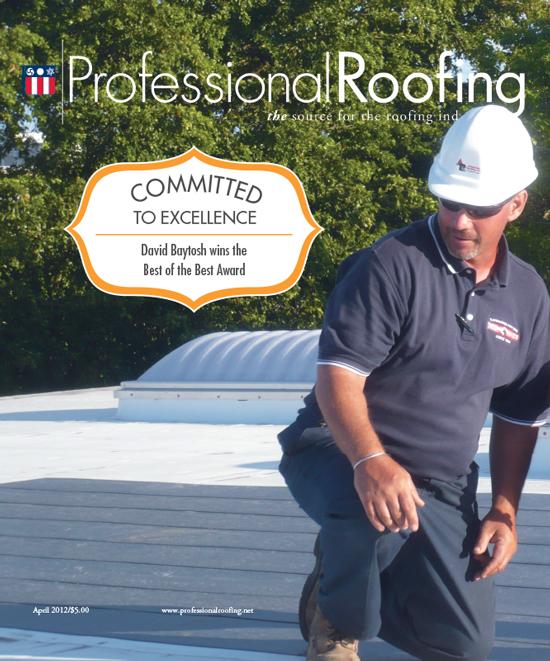 Professional Roofing Magazine 4/1/2012