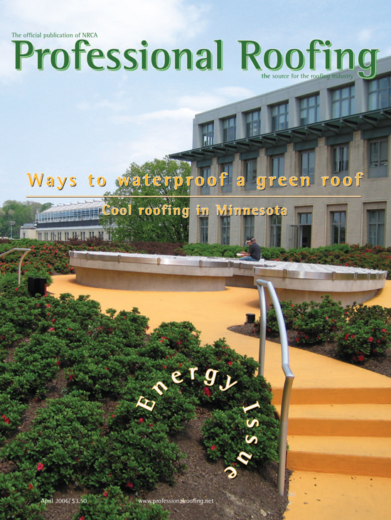 Professional Roofing Magazine 4/1/2006