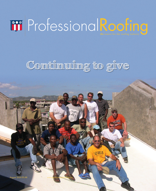 Professional Roofing Magazine 8/1/2010