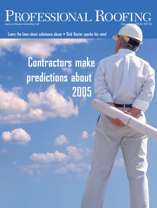 Professional Roofing Magazine 12/1/2004