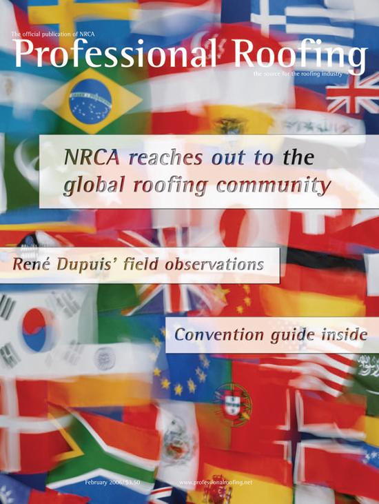 Professional Roofing Magazine 2/1/2006