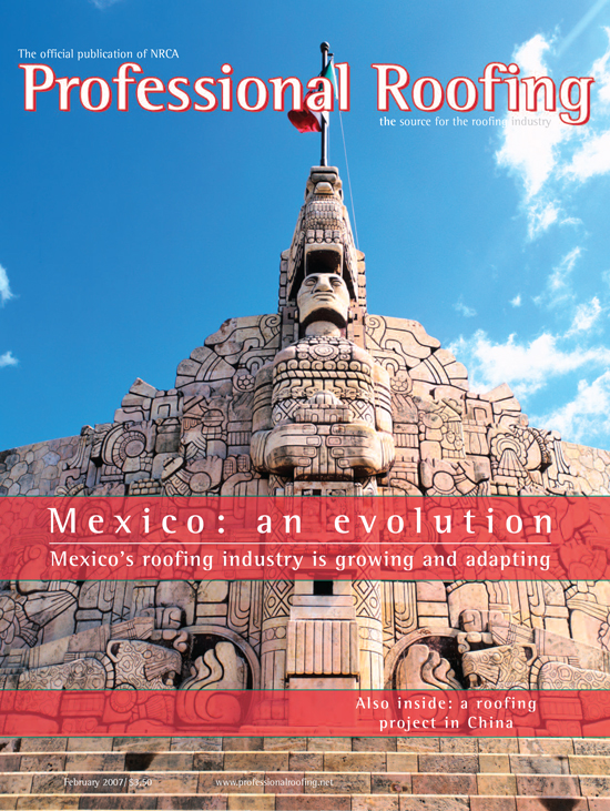 Professional Roofing Magazine 2/1/2007