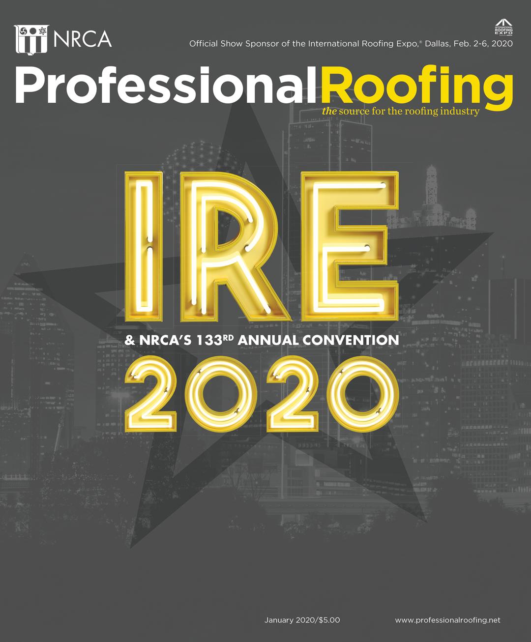 Professional Roofing Magazine 1/1/2020