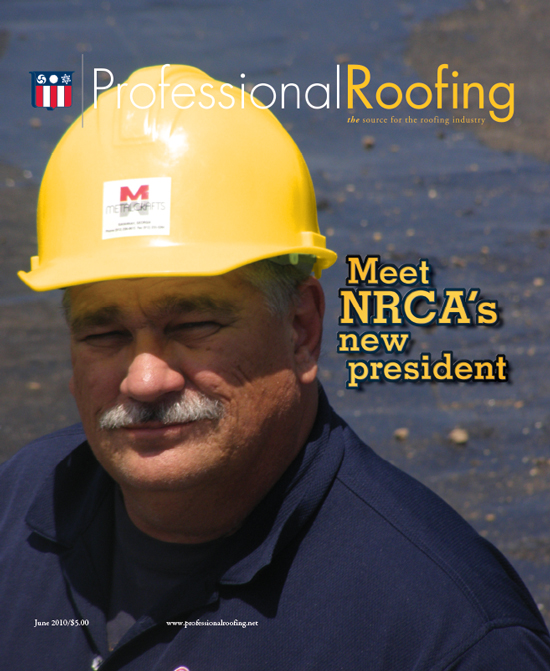 Professional Roofing Magazine 6/1/2010