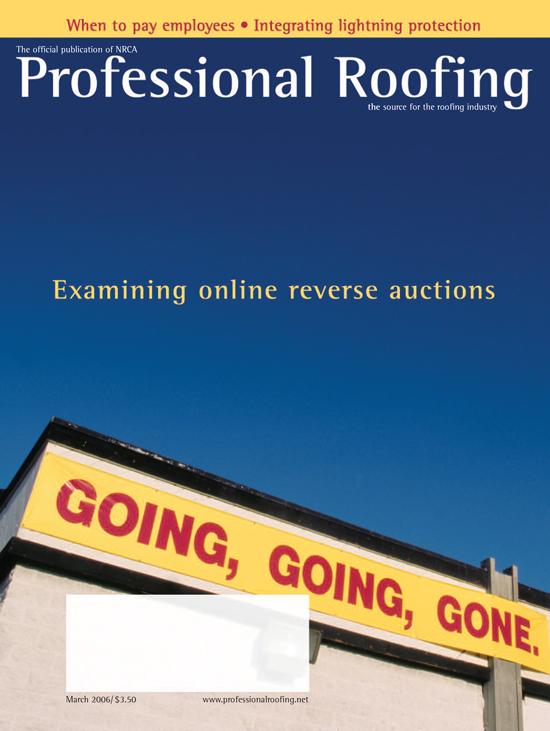 Professional Roofing Magazine 3/1/2006