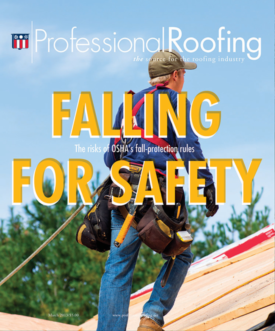 Professional Roofing Magazine 3/1/2013