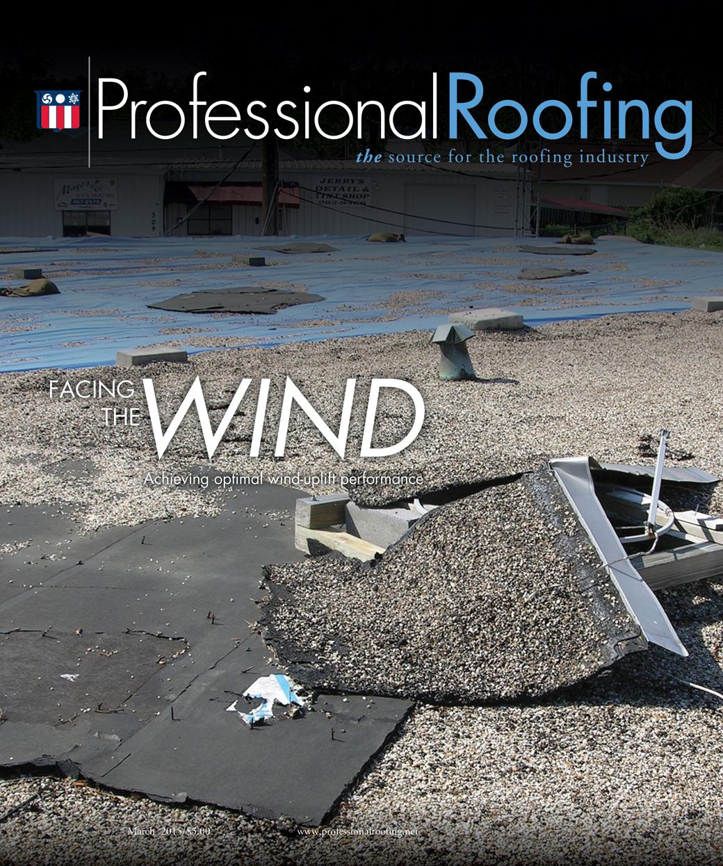 Professional Roofing Magazine 3/1/2015
