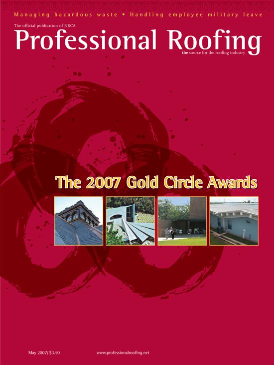 Professional Roofing Magazine 5/1/2007