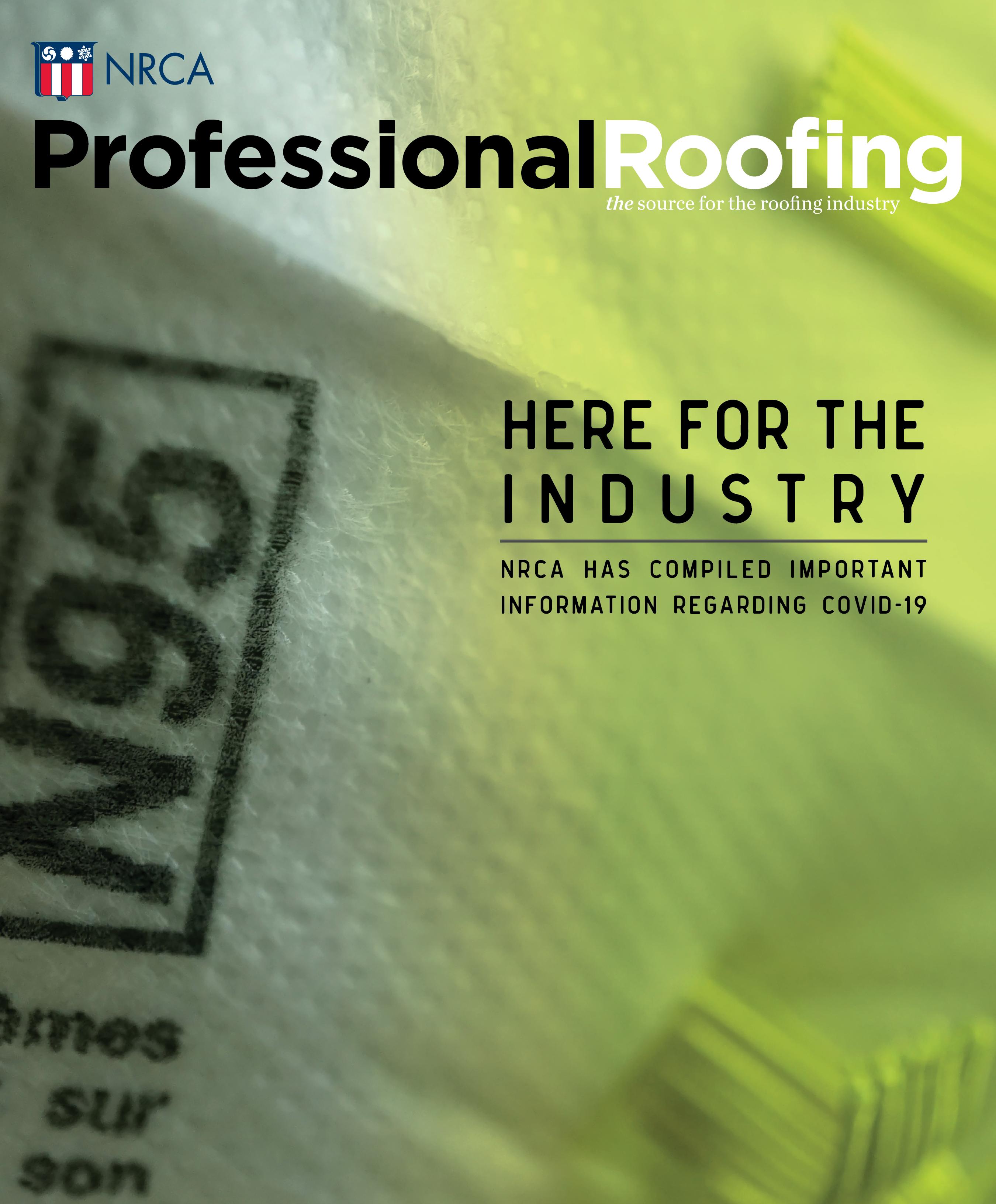 Professional Roofing Magazine 5/1/2020